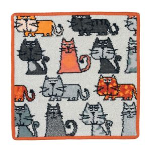 Feiler Cats Washcloth